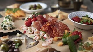 trattoria s-card lunch antipasto åbo mat