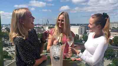 Original Sokos Hotel Kupittaa Turku Kuppis Rooftop Bar kattoterassi kattobaar