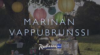 Radisson Blu Marina Palace Hotel Vappulounas, brunssi Turussa