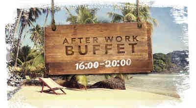 After Work Buffet perjantaisin klo 16.00-20.00