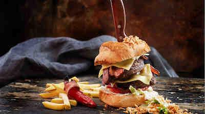 Texmex amarillo flamingo hampurilainen burger vantaa