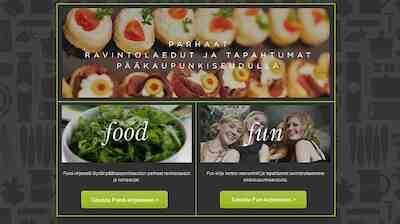 Ravintolat Helsinki lounas Food&Fun