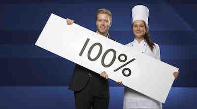 Radisson Blu antaa 100 % tyytyväisyystakuun