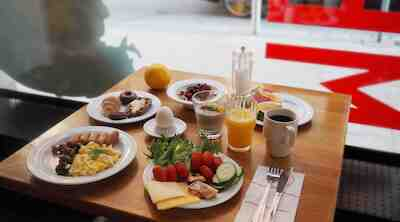 Aamiainen Helsinki keskusta aamupala