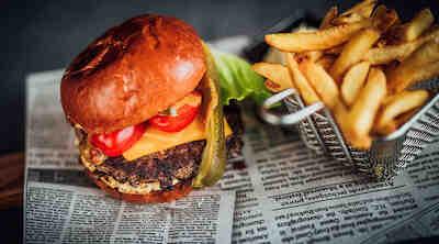 Bistro Gimis, burger