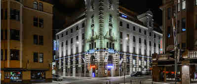 Ravintola Kitzens Helsinki, Radisson Blu Plaza Hotel