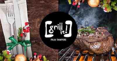 pikkujoulu, menu, torni, grill, grilli, tampere