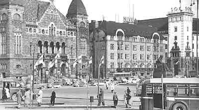 historiakuva vilhonkatu plaza hotel