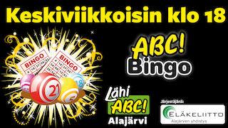 Lähi-ABC Alajärvellä BINGO keskiviikkoisin klo 18